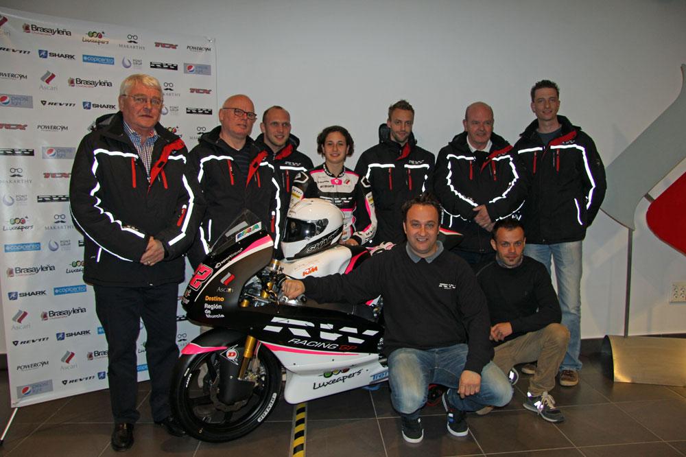 Presentación de Ana Carrasco y el RW Racing
