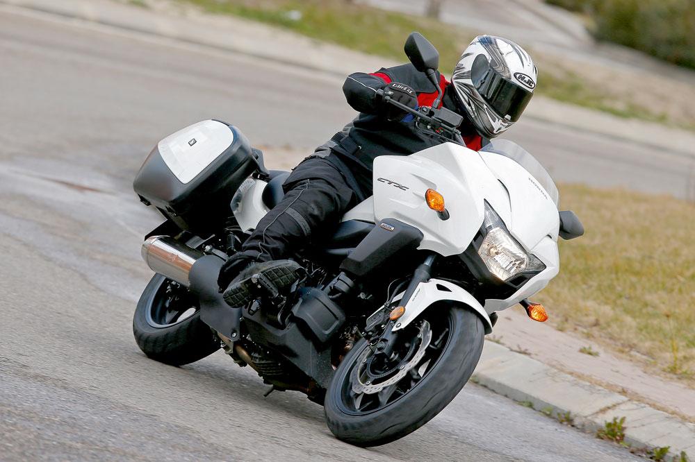 Honda CTX700. Prueba
