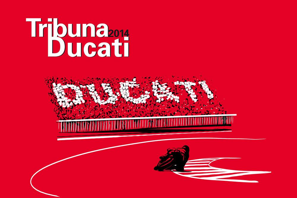 Tribuna Ducati Jerez 2014