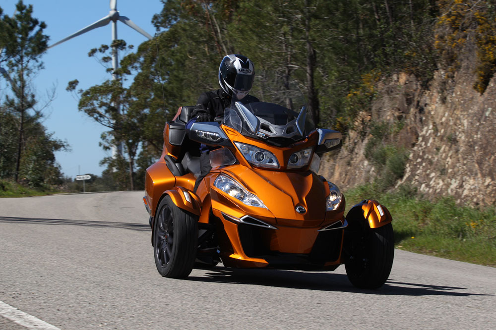 Prueba del Can-Am Spyder RT
