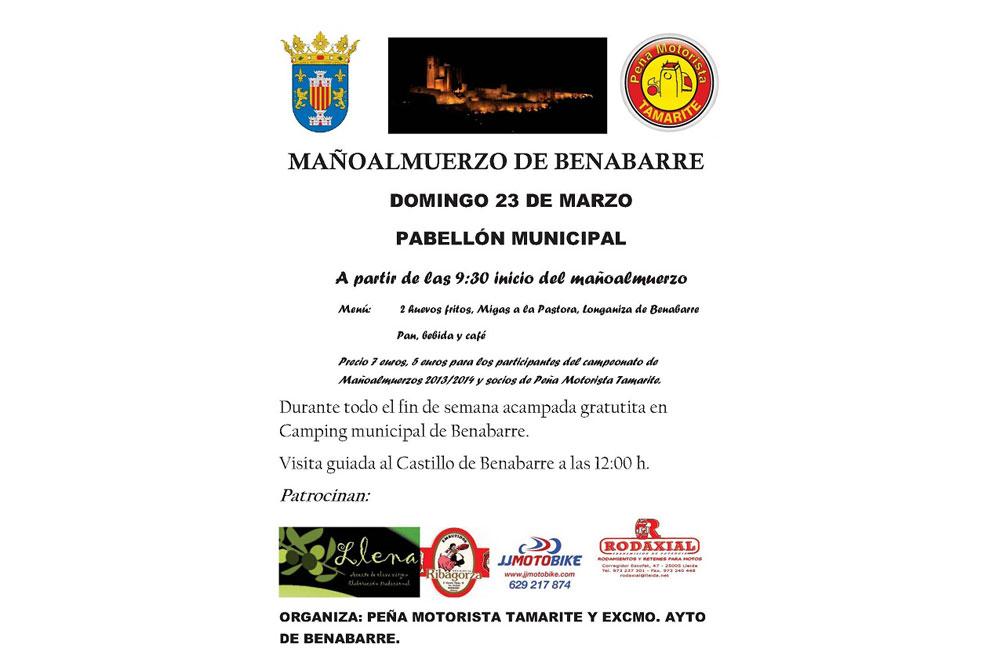 Reunión libre de motos de Benabarre 2014