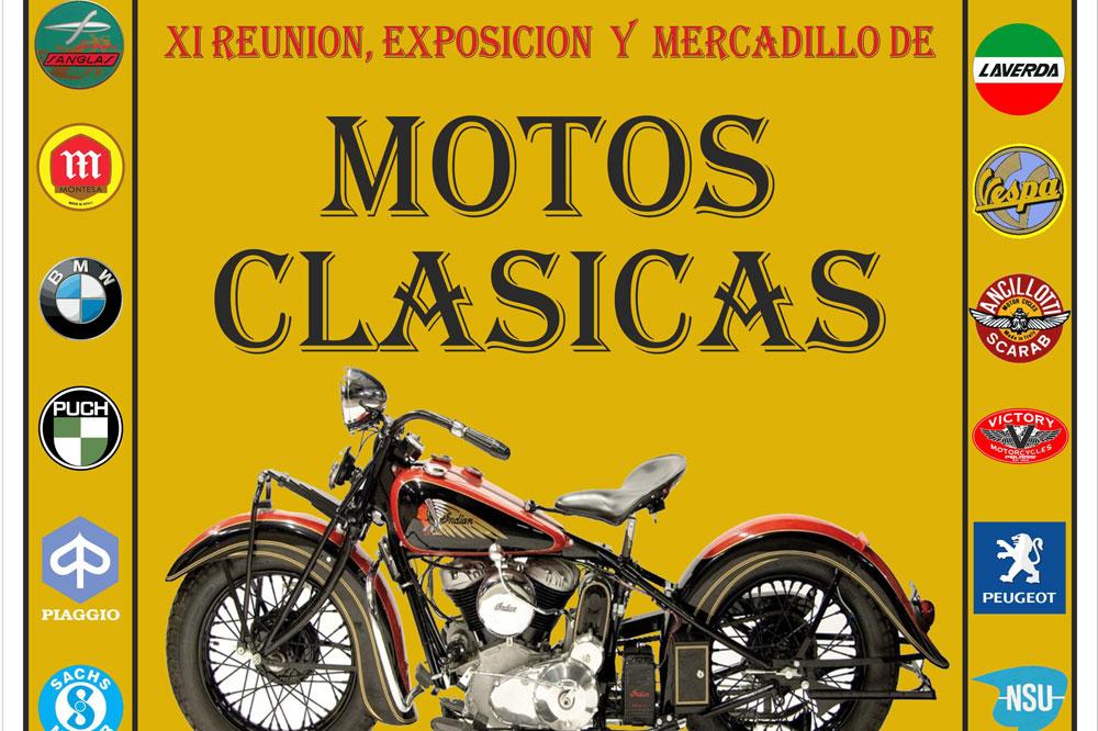 XI Mercadillo, Reunión y Exposición de Motos Clásicas