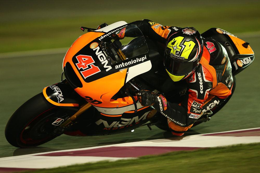 Aleix Espargaró, intratable en el FP2 de Qatar