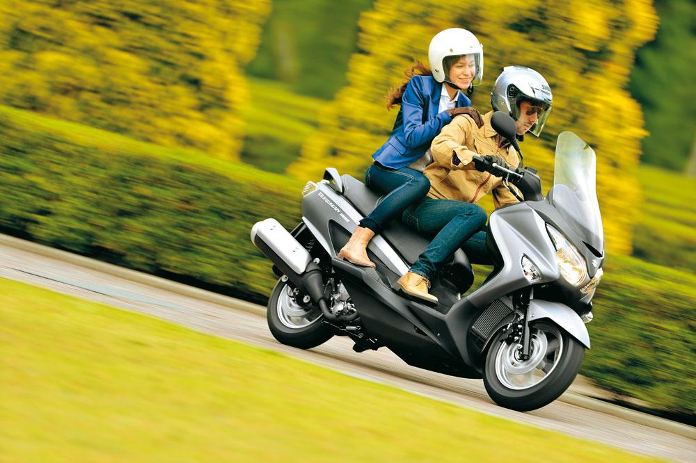 Llévate el nuevo Suzuki Burgman por 125 euros al mes