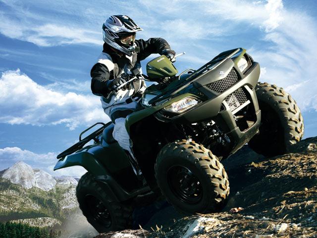 Compra un Suzuki KingQuad y regálate una ruta por Teruel