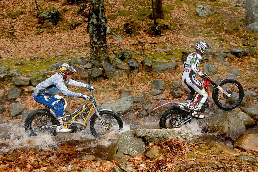 Comparativa trial 300 Gas Gas TXT vs Sherco ST