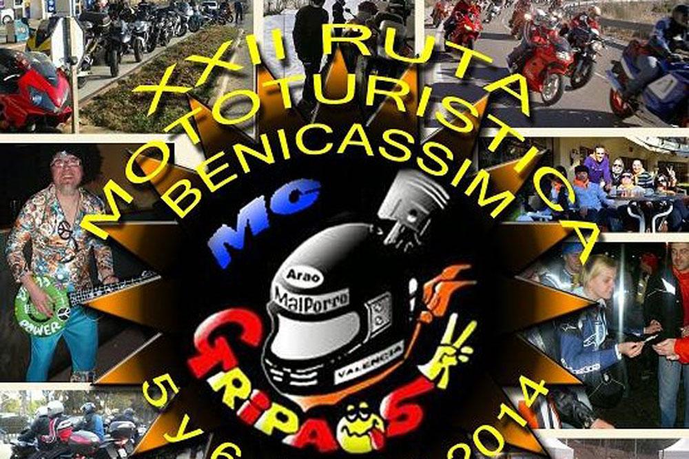 XXII Ruta Mototurística a Benicassim
