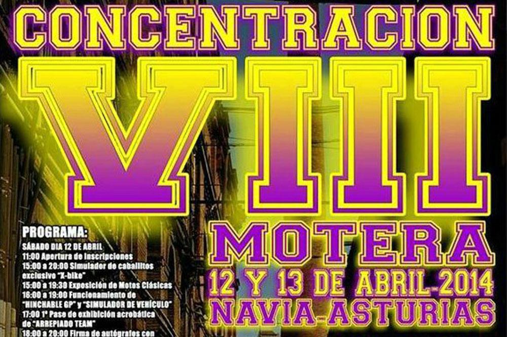 VII Concentración Motera Navia