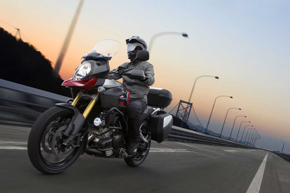 La Suzuki V-Strom 1000 ABS, por solo 185 euros al mes