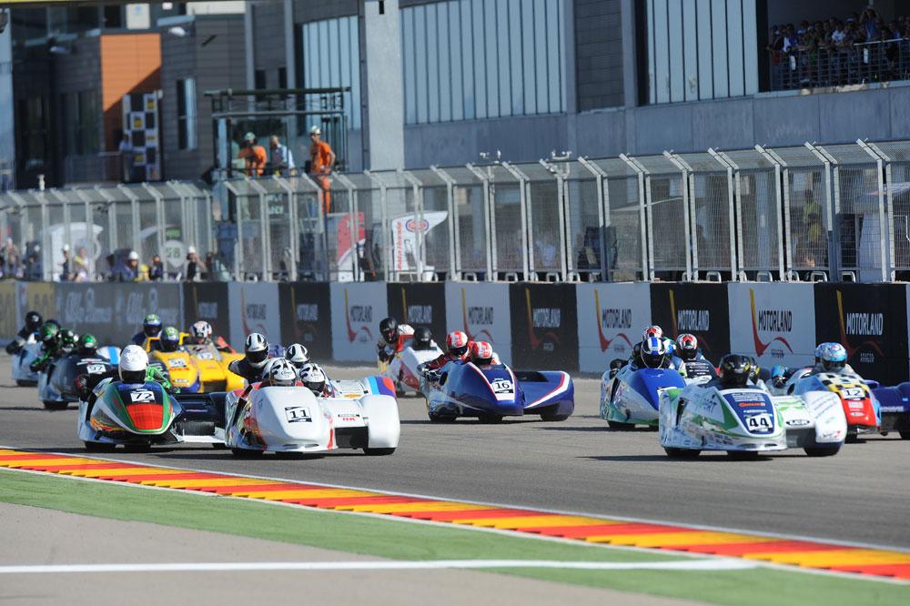 El Mundial de Sidecars vuelve en Aragón junto a SBK