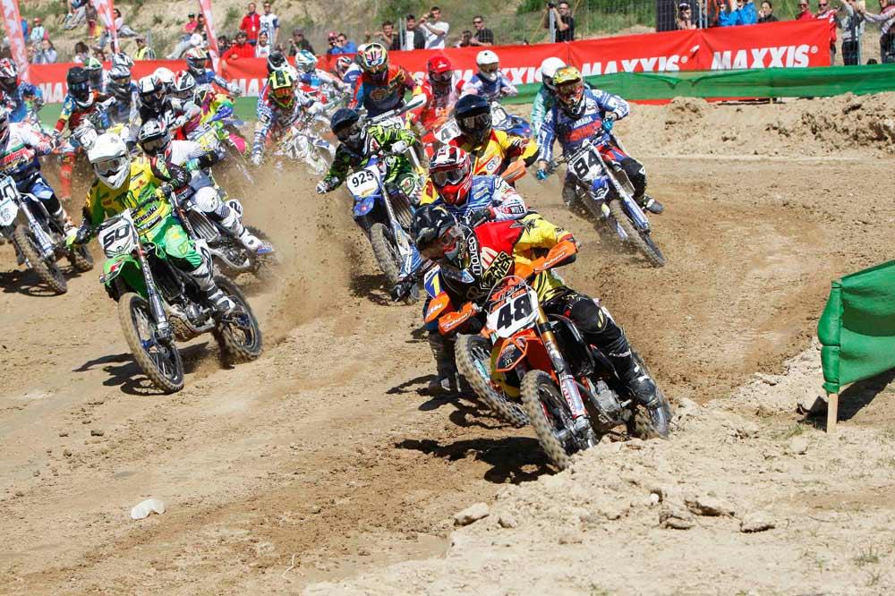 El Nacional de Motocross disputa en Andalucía su tercera prueba.