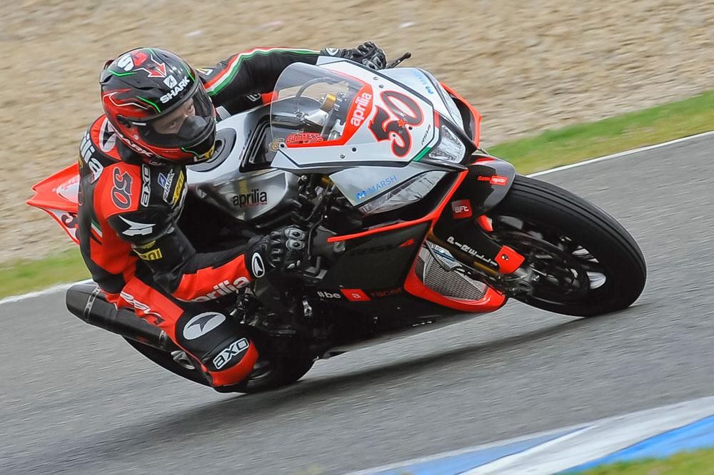 La lluvia arruina la tercera jornada de test en Jerez