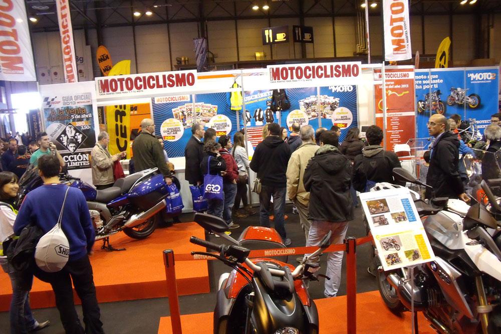 Actividades de MOTOCICLISMO en MotoMadrid 2014