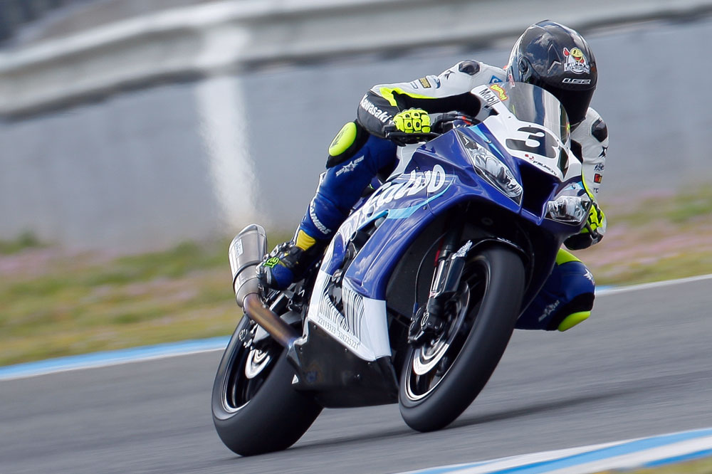 Carmelo Morales estrena el palmarés de Superbike