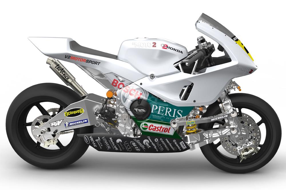 Presentación oficial de La Moto2
