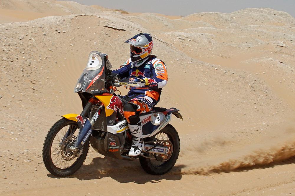 Marc Coma, segundo en el arranque del Abu Dhabi Desert Challenge