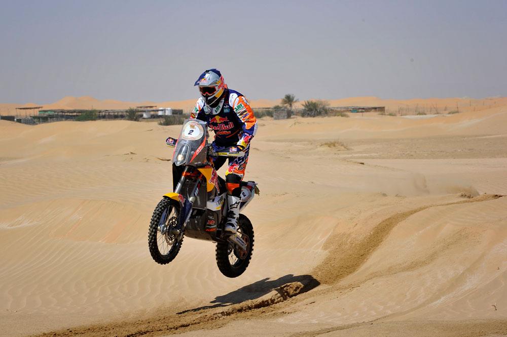 Marc Coma, nuevo líder del Abu Dhabi Desert Challenge