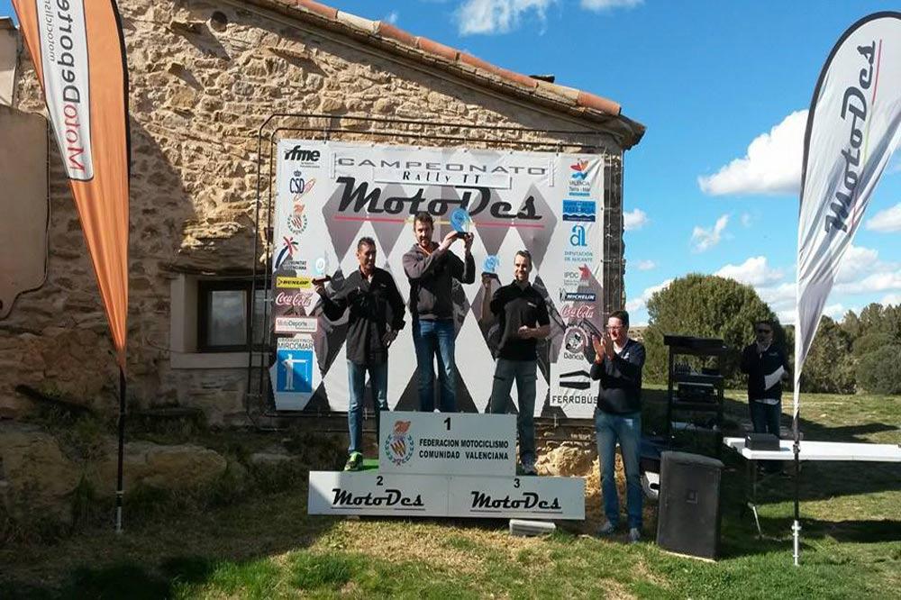 Motodes Rally TT (1º prueba) -Masía Pelarda (Teruel)