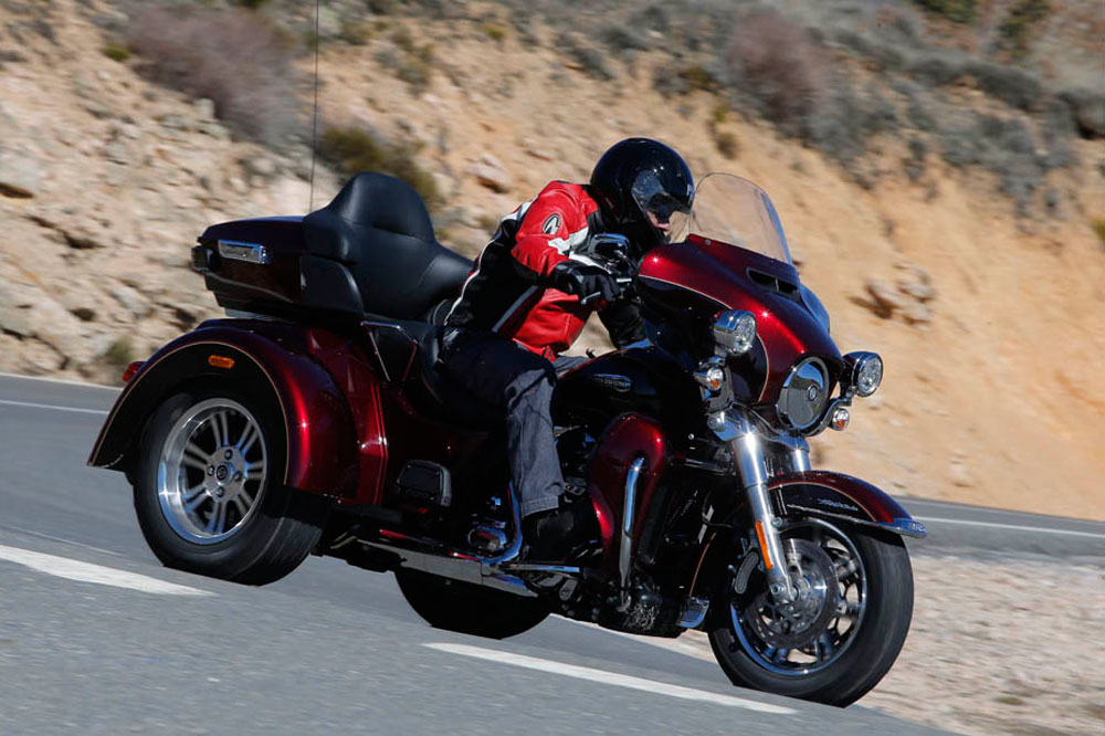 Prueba del Harley-Davidson Tri Glide Ultra
