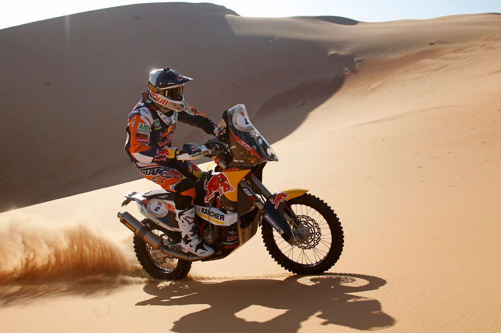 Marc Coma recupera el liderato en Abu Dhabi tras cederlo en la tercera etapa
