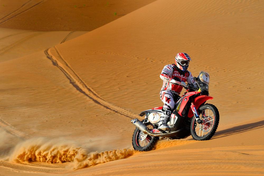 Paulo Gonçalves se impone en el Abu Dhabi Desert Challenge 2014