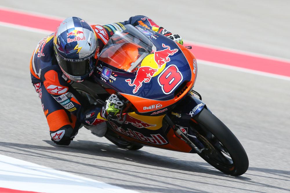 Jack Miller se adjudica la pole de Moto3 en Austin