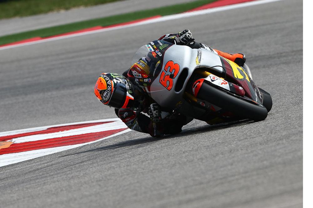 Tito Rabat arrancará en Moto2 desde la primera posición