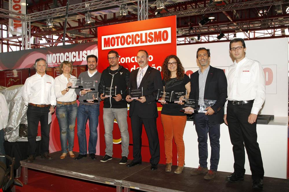 Las mejores motos de 2014 ya tienen su premio