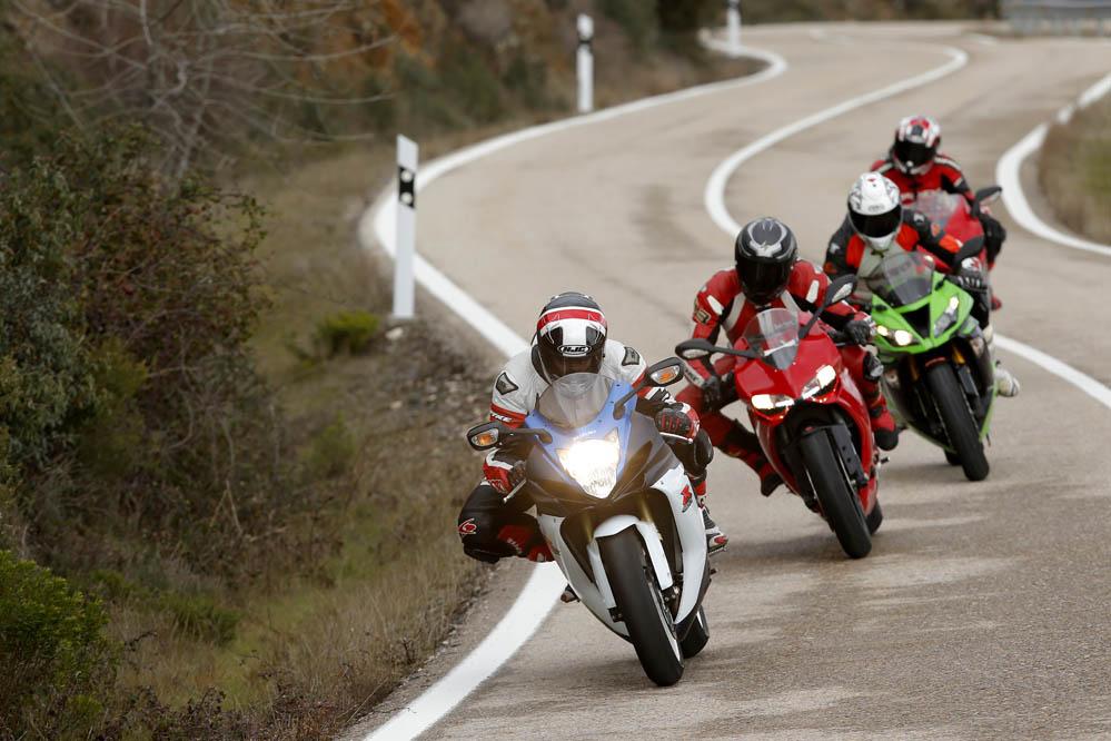 Comparativa Supersport: Ducati, Kawasaki, MV Agusta y Suzuki