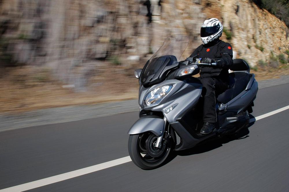 Promoción Suzuki Burgman 650