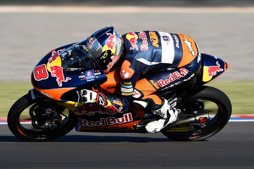 Jack Miller no da opción y se adjudica la pole de Moto3