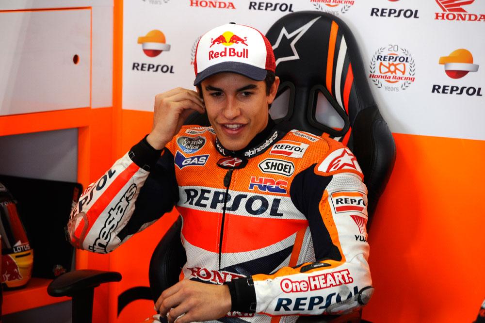Marc Márquez: Intentaré ganar la carrera, tenemos el ritmo