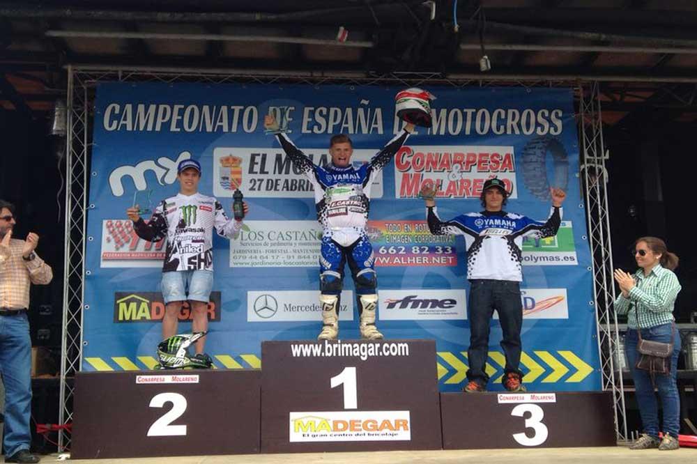 Vico, Haro, Font y Ubach, vencedores en El Molar