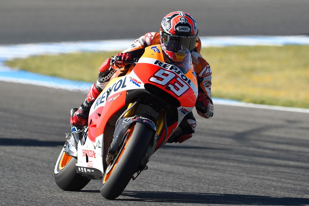 Marc Márquez: Está todo más apretado, las Yamaha son mucho más competitivas