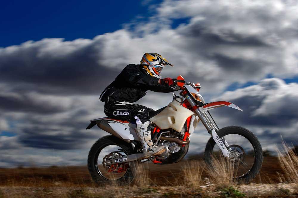 KTM 500 EXC Factöry Suspension