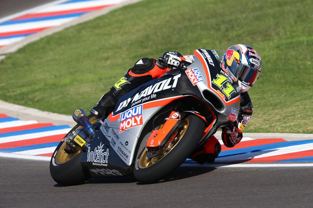 Sandro Cortese domina la tercera sesión de libres de Moto2