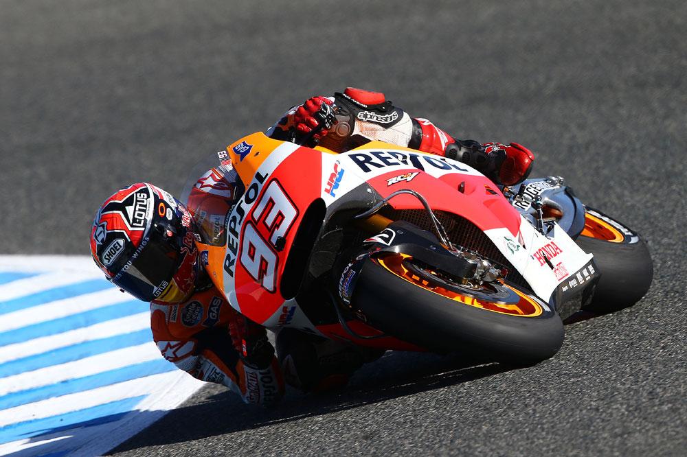 Marc Márquez vuela en Jerez y se adjudica la pole