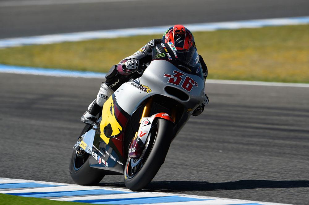 Mika Kallio arrancará primero en Moto2
