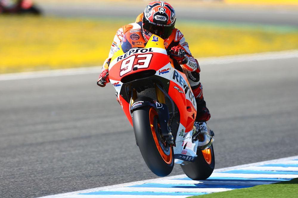 Póquer de victorias de Marc Márquez en MotoGP