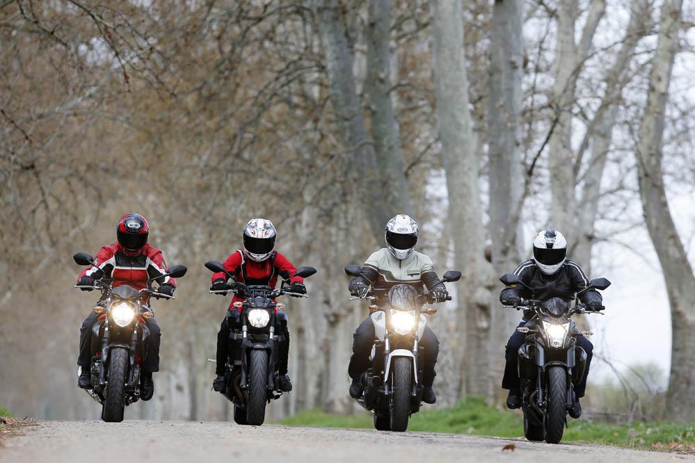 Comparativa naked: Honda, Kawasaki, Suzuki y Yamaha