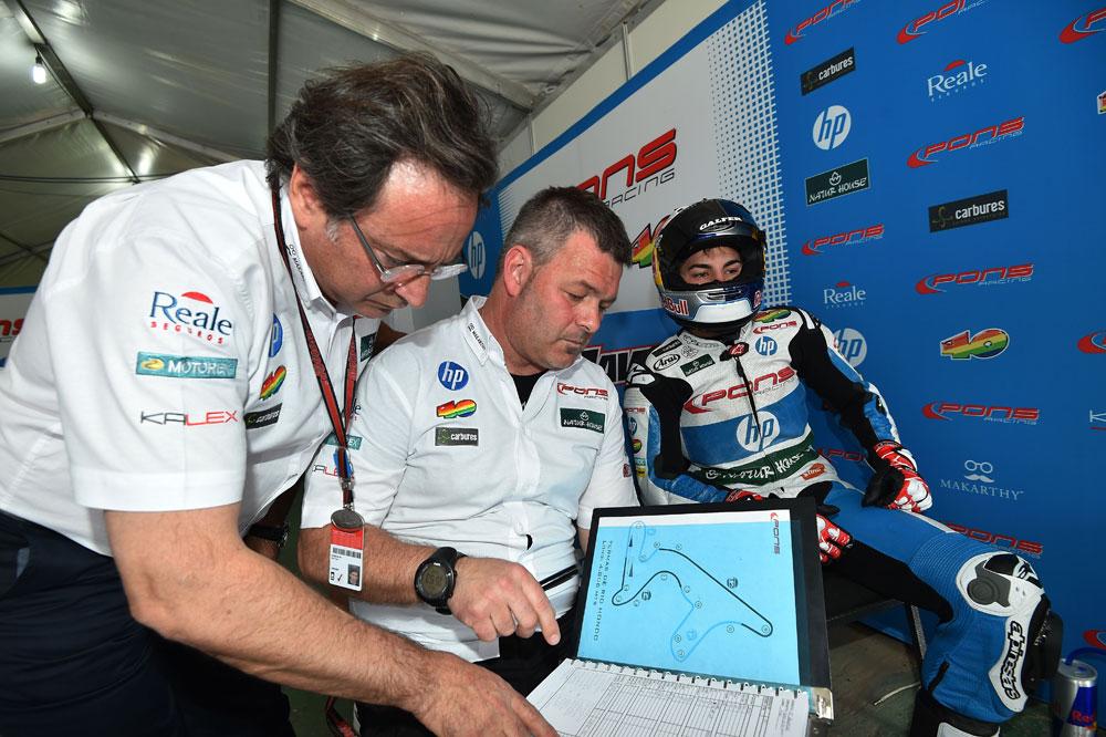 Sito Pons planea volver a MotoGP con Maverick Viñales