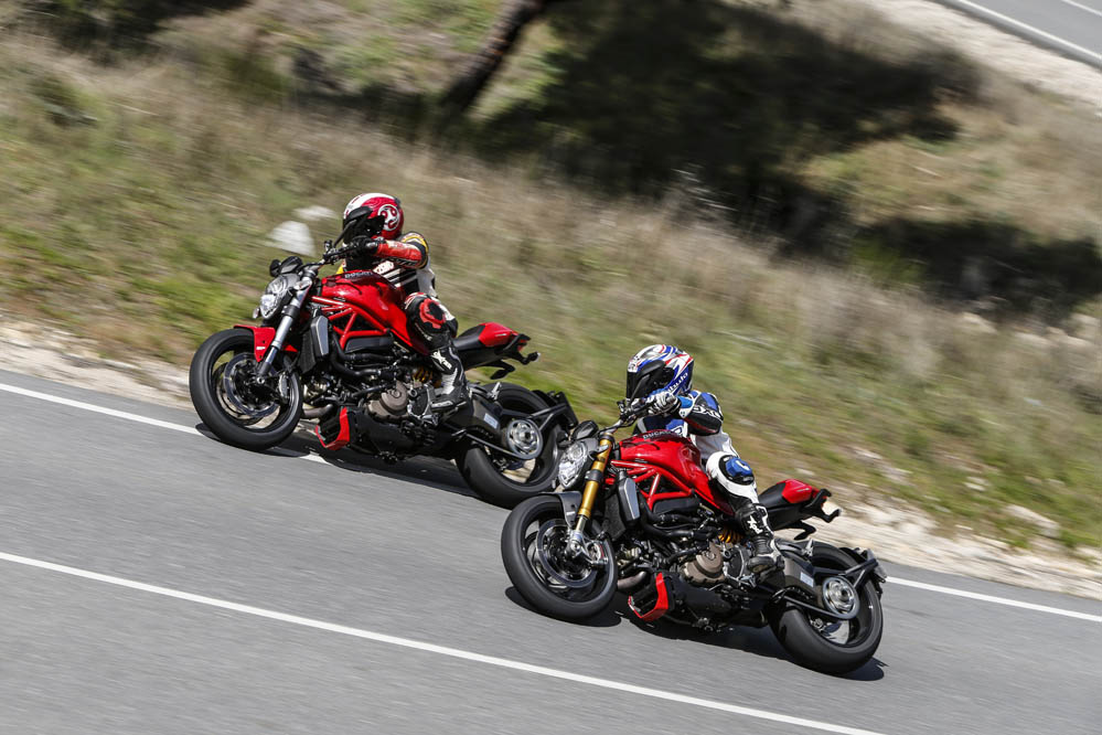 Comparativa Ducati Monster 1200