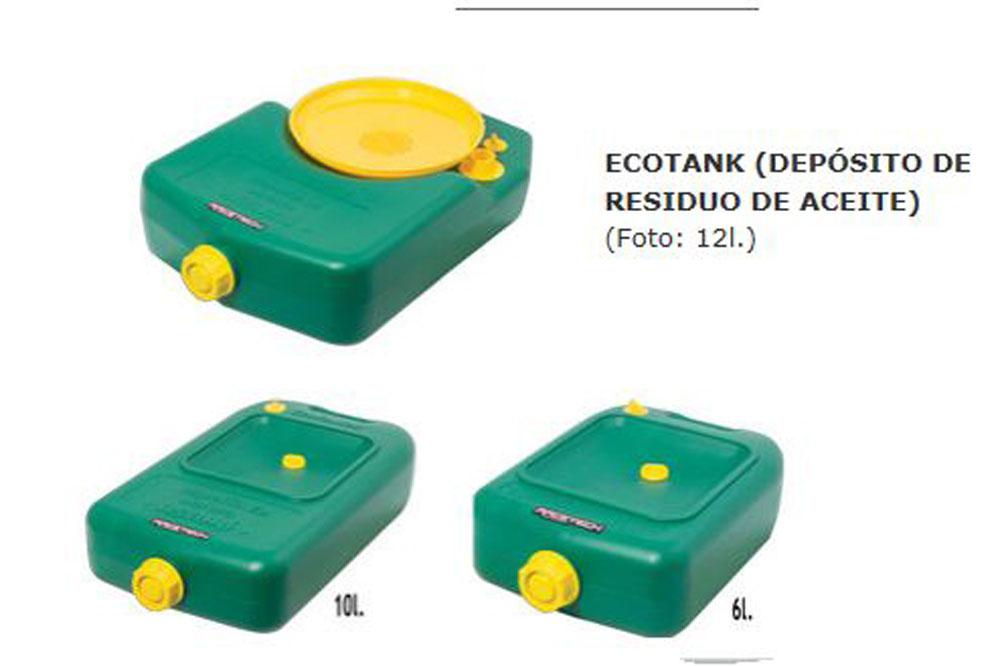 Ecotank, depósito para residuos aceite