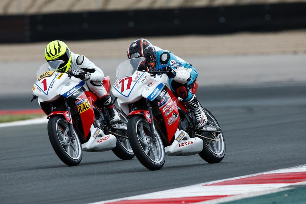 Pedro Castaño se impone en la tercera prueba de la Copa Honda CBR250R