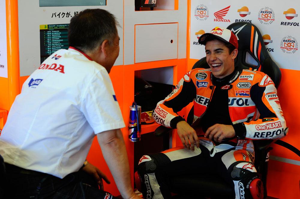 Marc Márquez prorroga su contrato con Honda hasta 2016