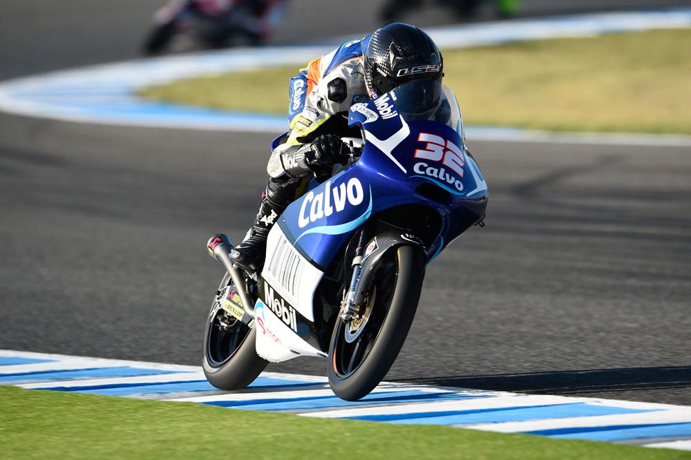 Isaac Viñales, el más rápido en el arranque del GP de Francia