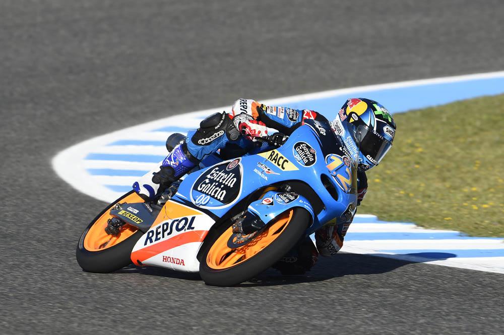 Alex Márquez termina la primera jornada en Francia como el más rápido