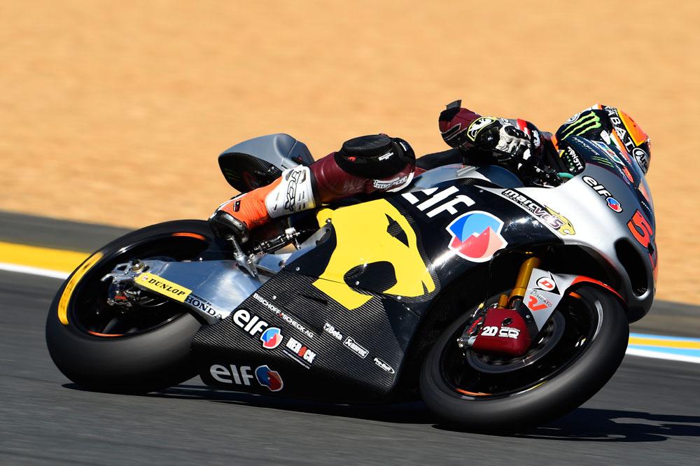 Tito Rabat aprieta y se sitúa primero en el FP3 de Moto2