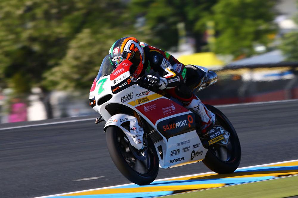 Efrén Vázquez se adjudica la primera pole de su vida en Le Mans