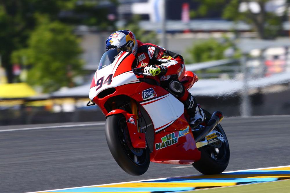 Jonas Folger partirá primero en Moto2